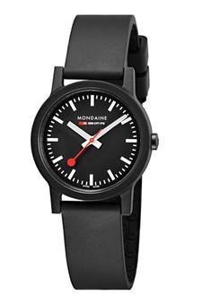 Mondaine Official Swiss Essence Black 32mm Watch MS1.32120.RB