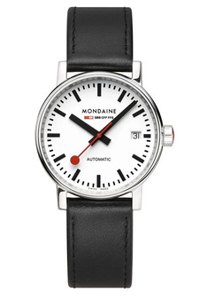 Mondaine Official Swiss EVO2 Automatic 35mm Watch MSE.35610.LB