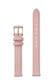 Cluse 12mm Watch Strap Pink/Rose Gold Leather CS12007