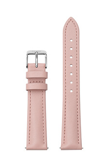 Cluse 16mm Watch Strap Pink/Silver Leather CS12232