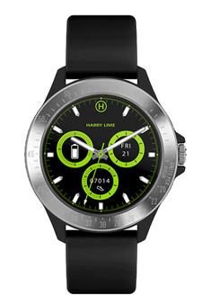 Harry Lime Black Silver Smart Watch HA07-2001