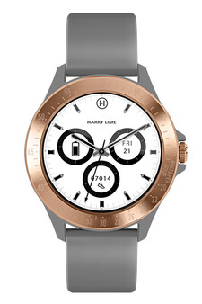 Harry Lime Grey Rose Gold Smart Watch HA07-2008