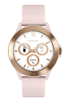 Harry Lime Pink Rose Gold Smart Watch HA07-2006