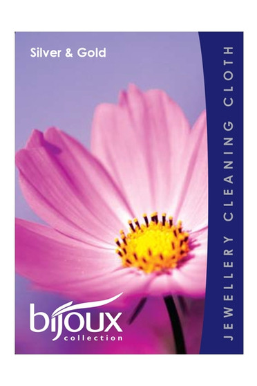 Bijoux Collection Jewellery Silver and Gold Cleaning Cloth