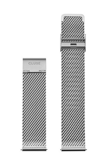 Cluse 20mm Watch Strap Mesh Silver CS1401101061