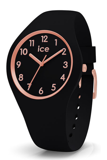 Ice-Watch Ice Glam Black Rose Gold Small Watch 014760