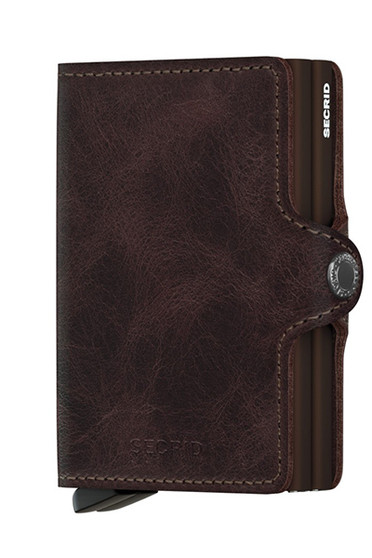Secrid Twinwallet Vintage Chocolate Wallet SC2181