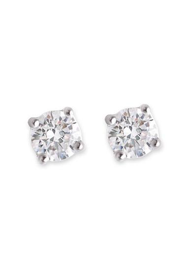 Bianc CZ Large Claw Set Stud Earrings 10100342