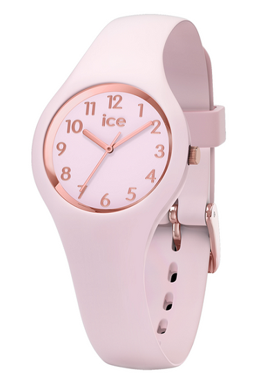 Ice Glam Pastel Rose Gold/Pink 28mm Extra Small Watch 15346