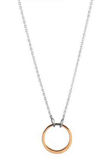 Ichu Open Circle Necklace JP2604