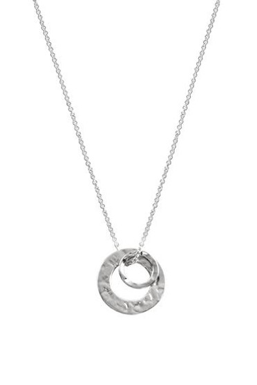 Ichu Double Circle Necklace N12904