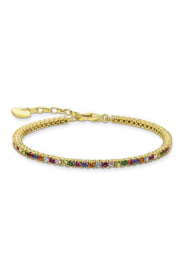 Thomas Sabo Bracelet Colourful Stones Gold TA2021MCY