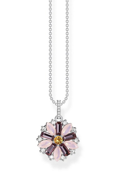 Thomas Sabo Necklace Flower Silver TKE2086