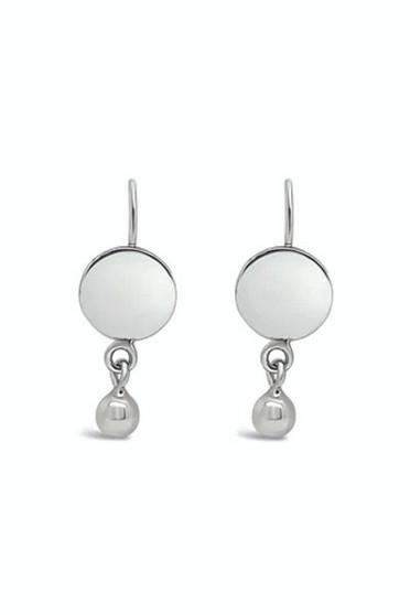 Ichu Ball'd Circle Drop Earrings ME14307