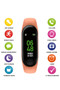 Tikkers Interactive Activity Tracker in Apricot TKS01-0001