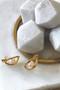 Ichu Oval'd Pearl Stud Earrings RP0207G