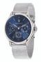 Maserati Epoca 42mm Blue Dial Silver Mesh Watch R8853118013