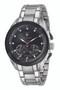 Maserati Traguardo 45mm Black Dial Silver Bracelet Watch R8873612015