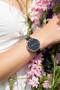 Reflex Active Series 3 Black Rose Gold Floral Smart Watch RA03-2078
