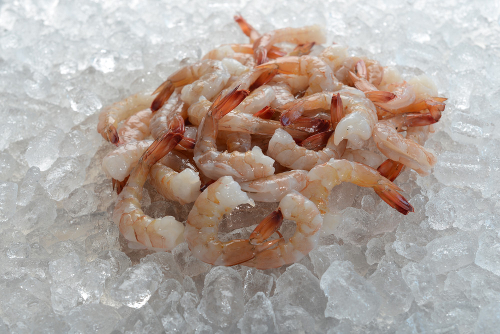 Cooked extra large  31-40 count EZ peel wild-caught USA American Gulf shrimp