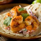 Jumbo shrimp taco.