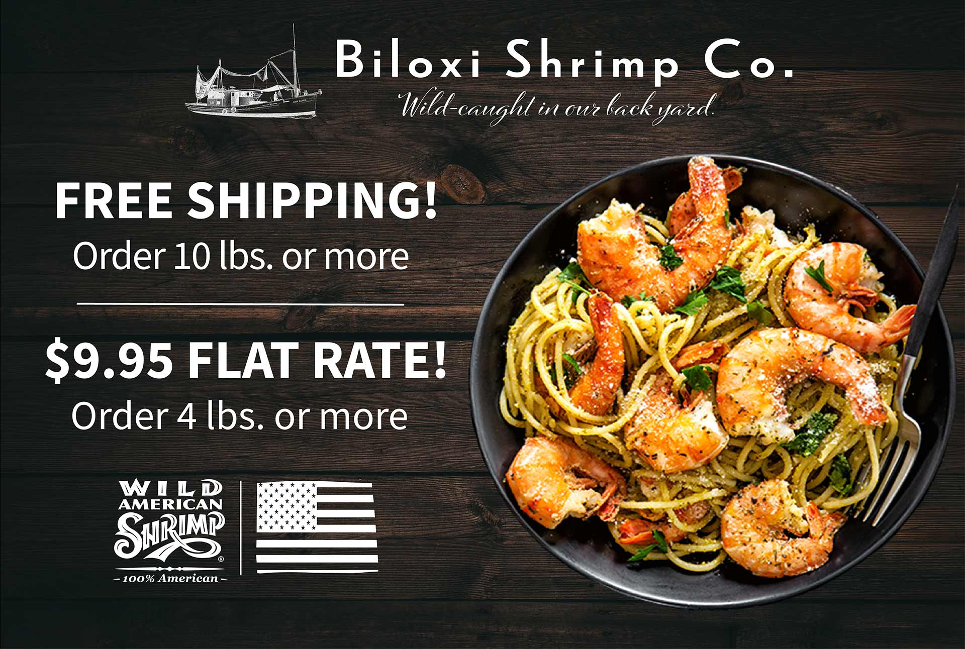 Free Shipping on orders 10lbs or more