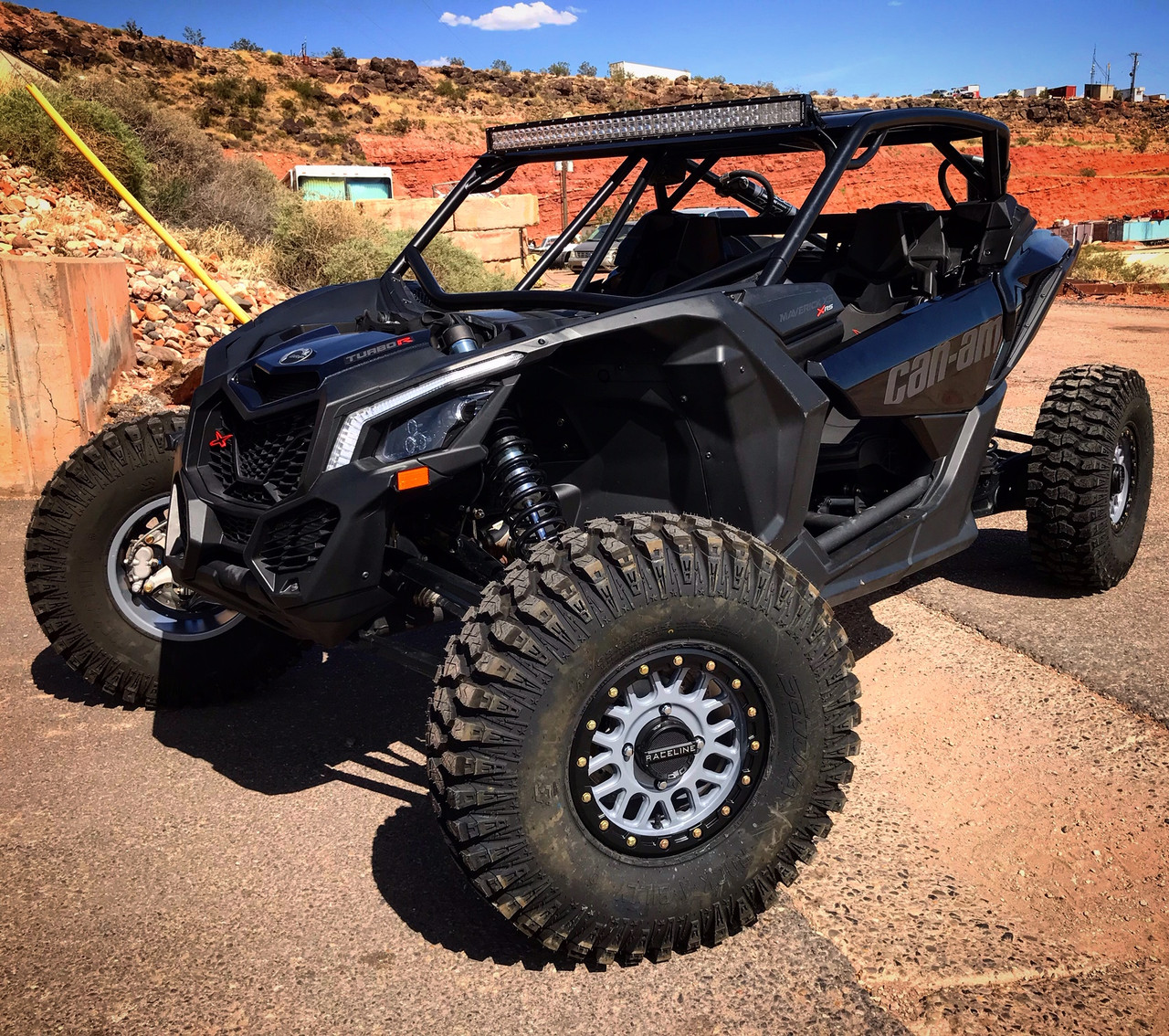 XFR Nemesis Cage with Rear Bumper for Can Am Maverick X3