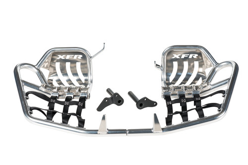 Yamaha YFZ450R 2009-2021 Pro Peg II Nerf Bars w/ Heel Guards | XFR