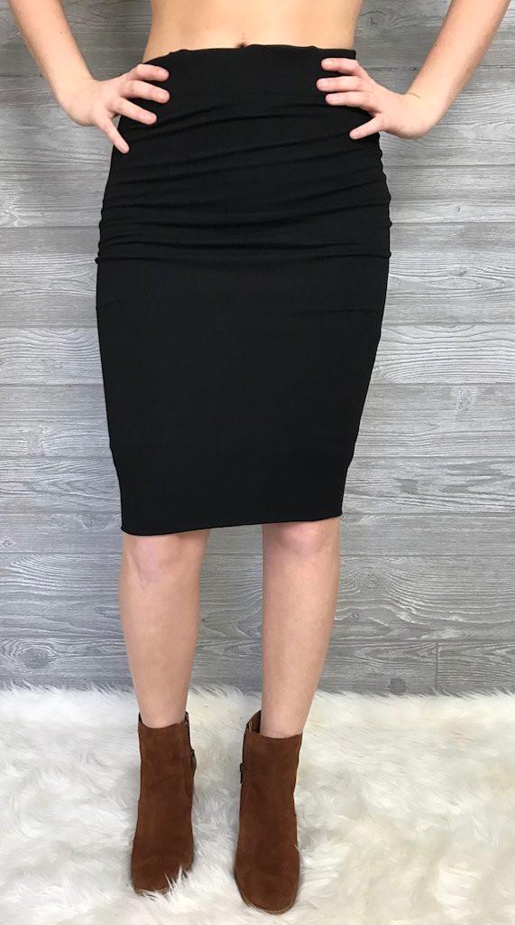 Skinny Pencil Skirt