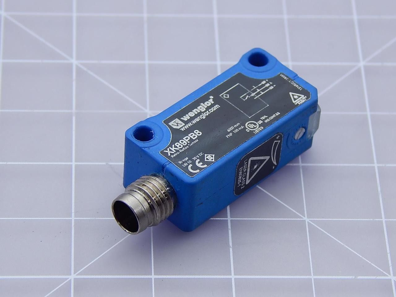 Retro-REFLEX sensore WENGLOR LK89PA7