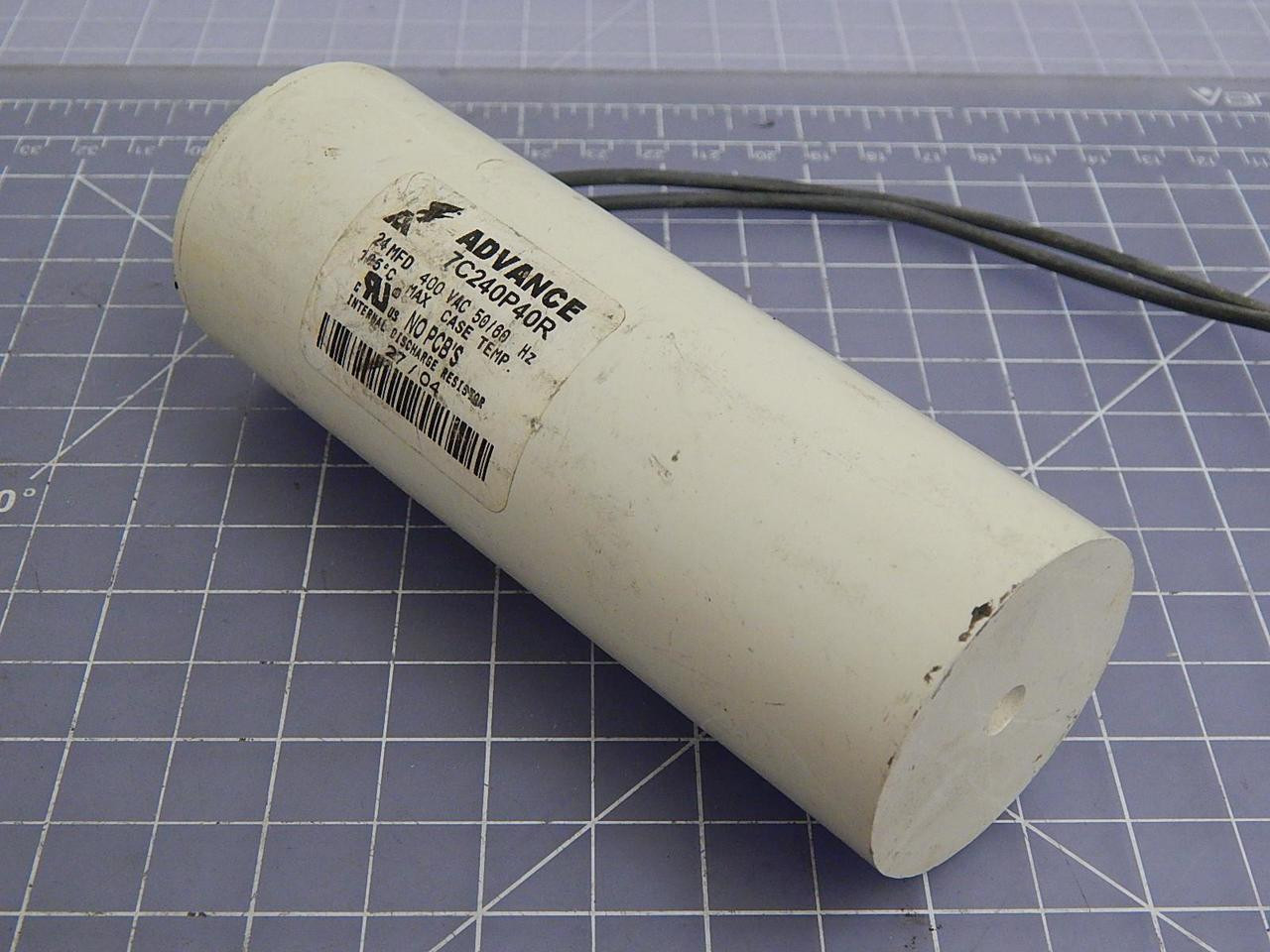 ADVANCE INTERNAL DISCHARGE CAPACITOR AND RESISTOR  7C240P40R