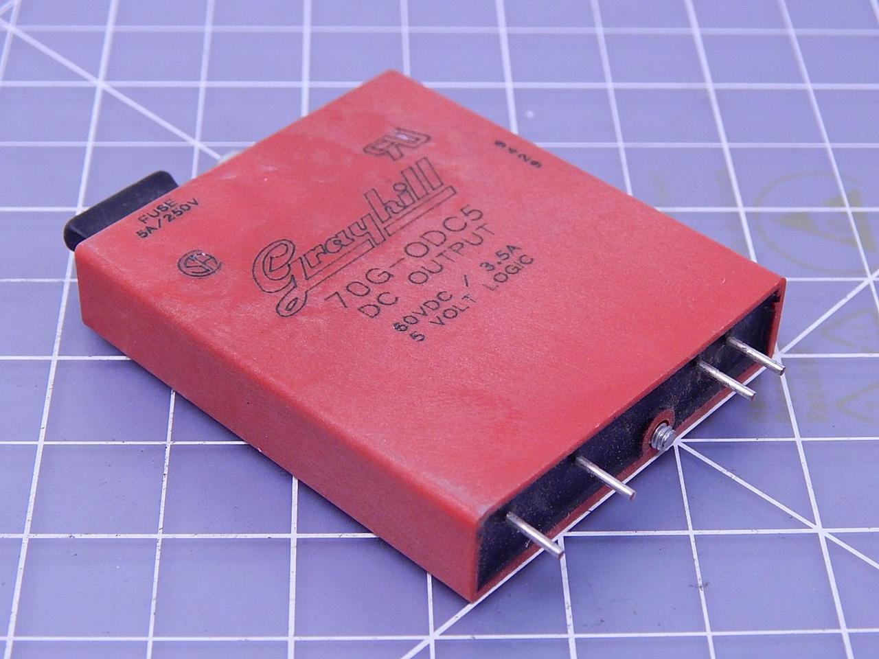 70G-ODC5 3.5A Grayhill 60VDC DC output module
