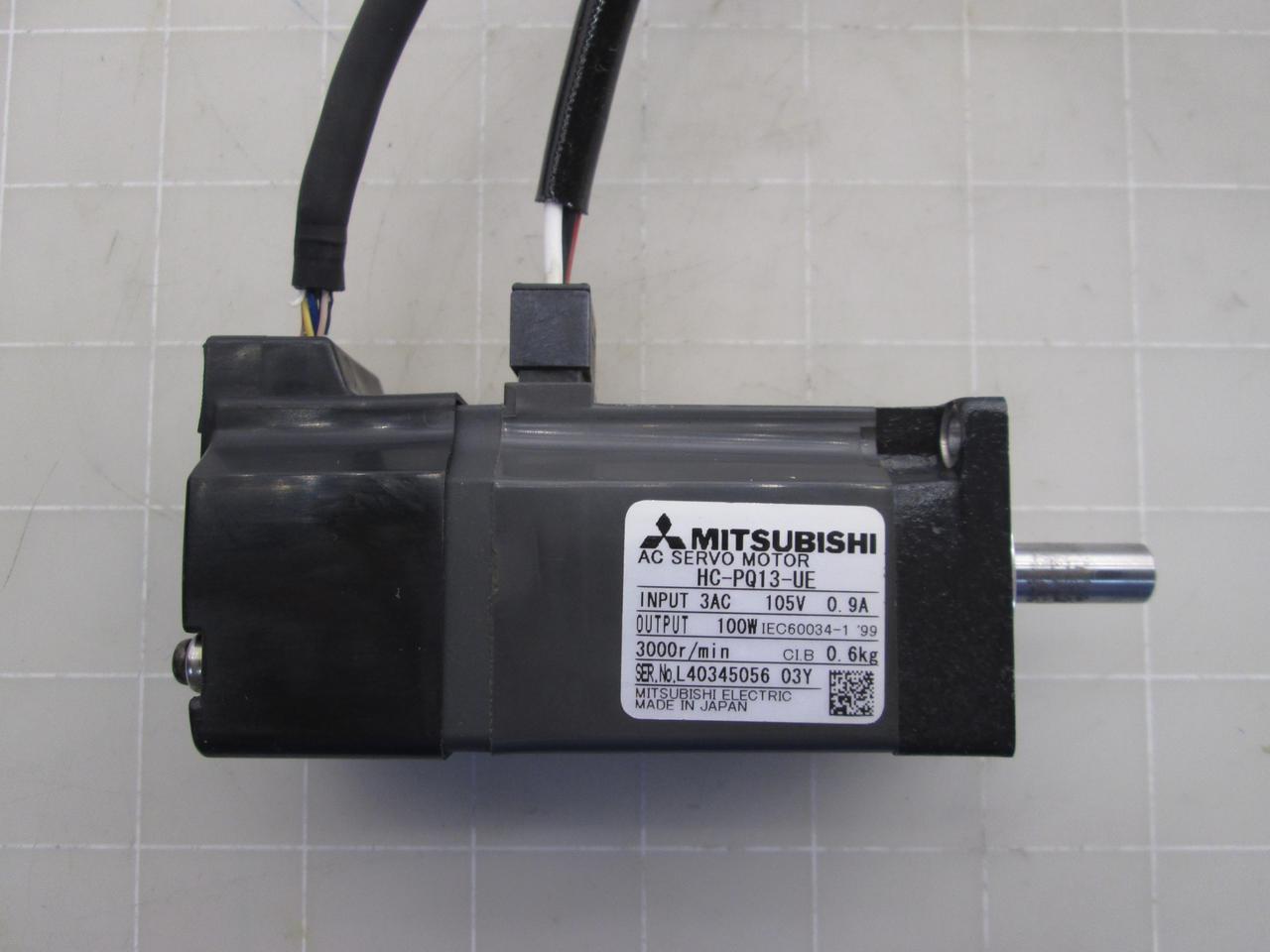 USED Mitsubishi servo motor HC-PQ13-UE