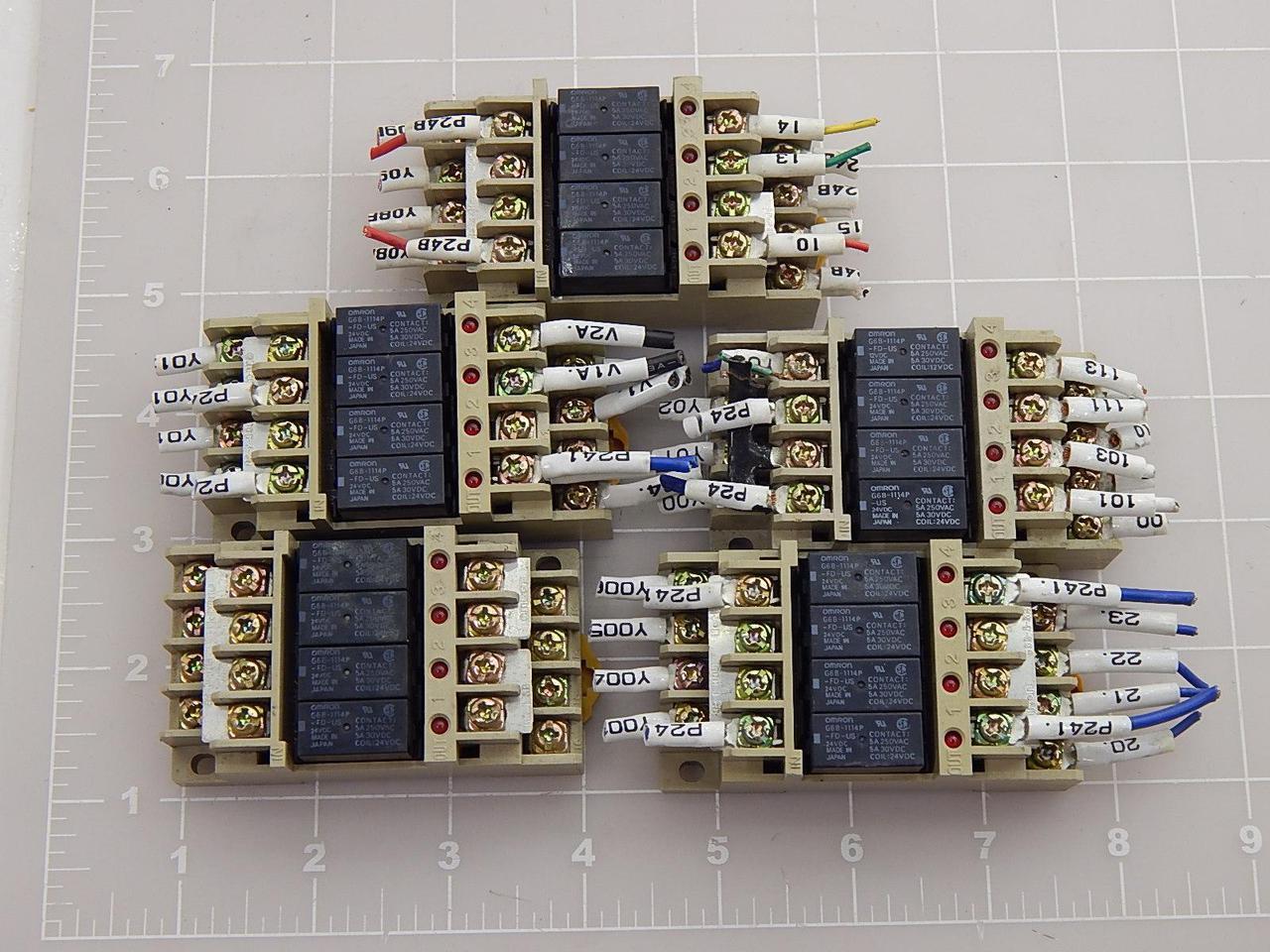 Brand New in Box Omron G6B-4BND Terminal Relay Block
