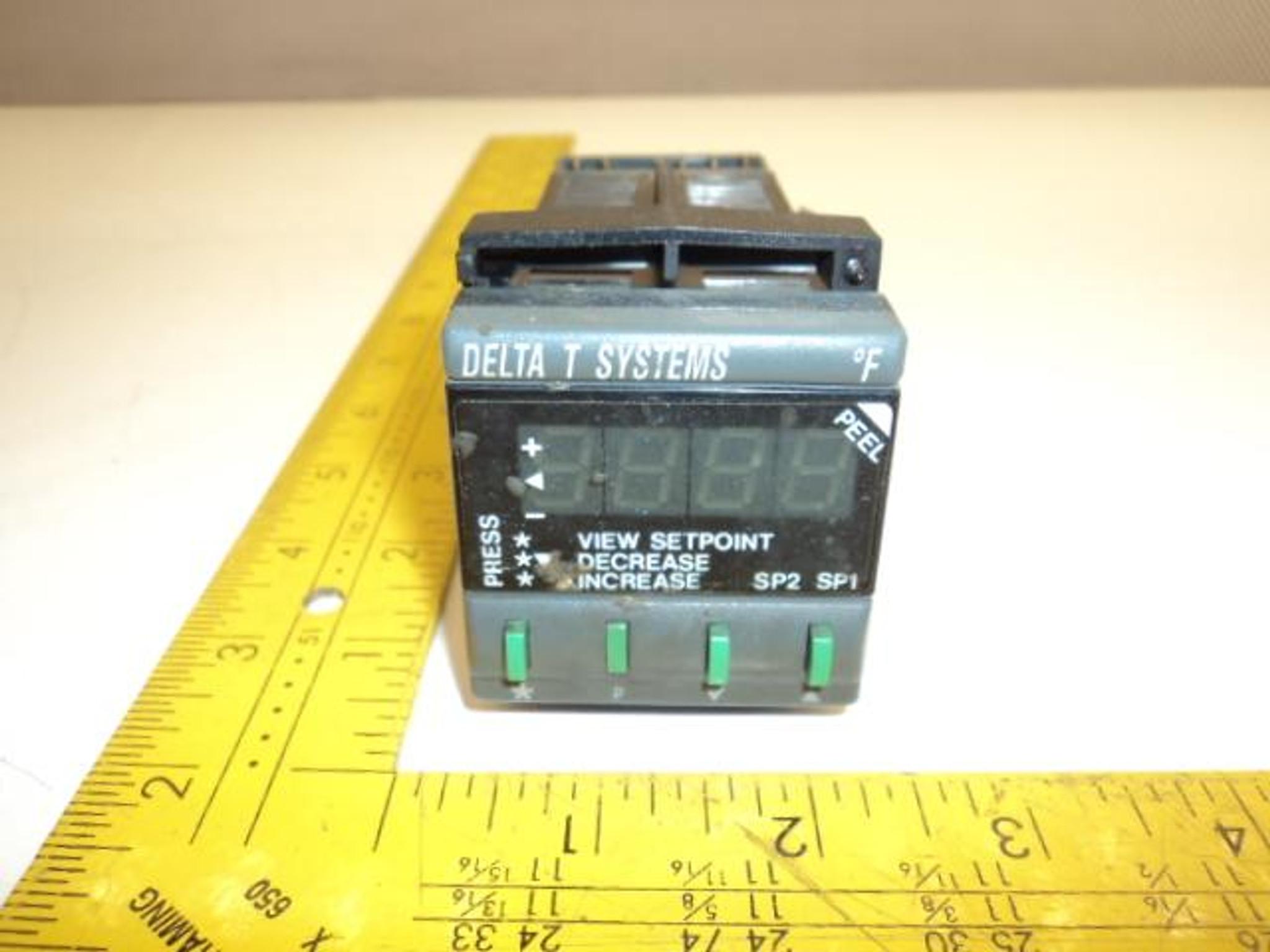 Delta Systems 991 11F CAL Controls Temperature Controller 115V 50-60HZ  T17583