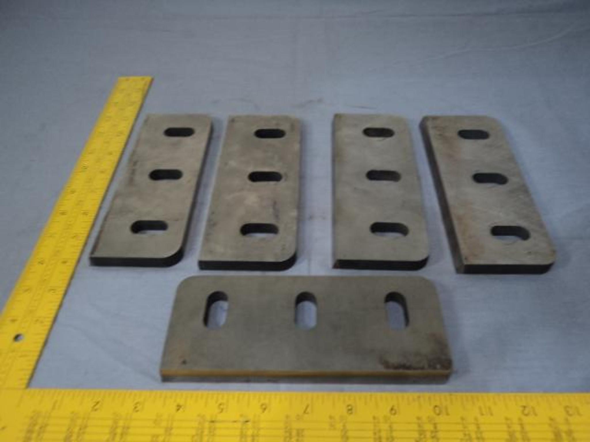 5 1000-042-706 Granulator Knives LOT T12552