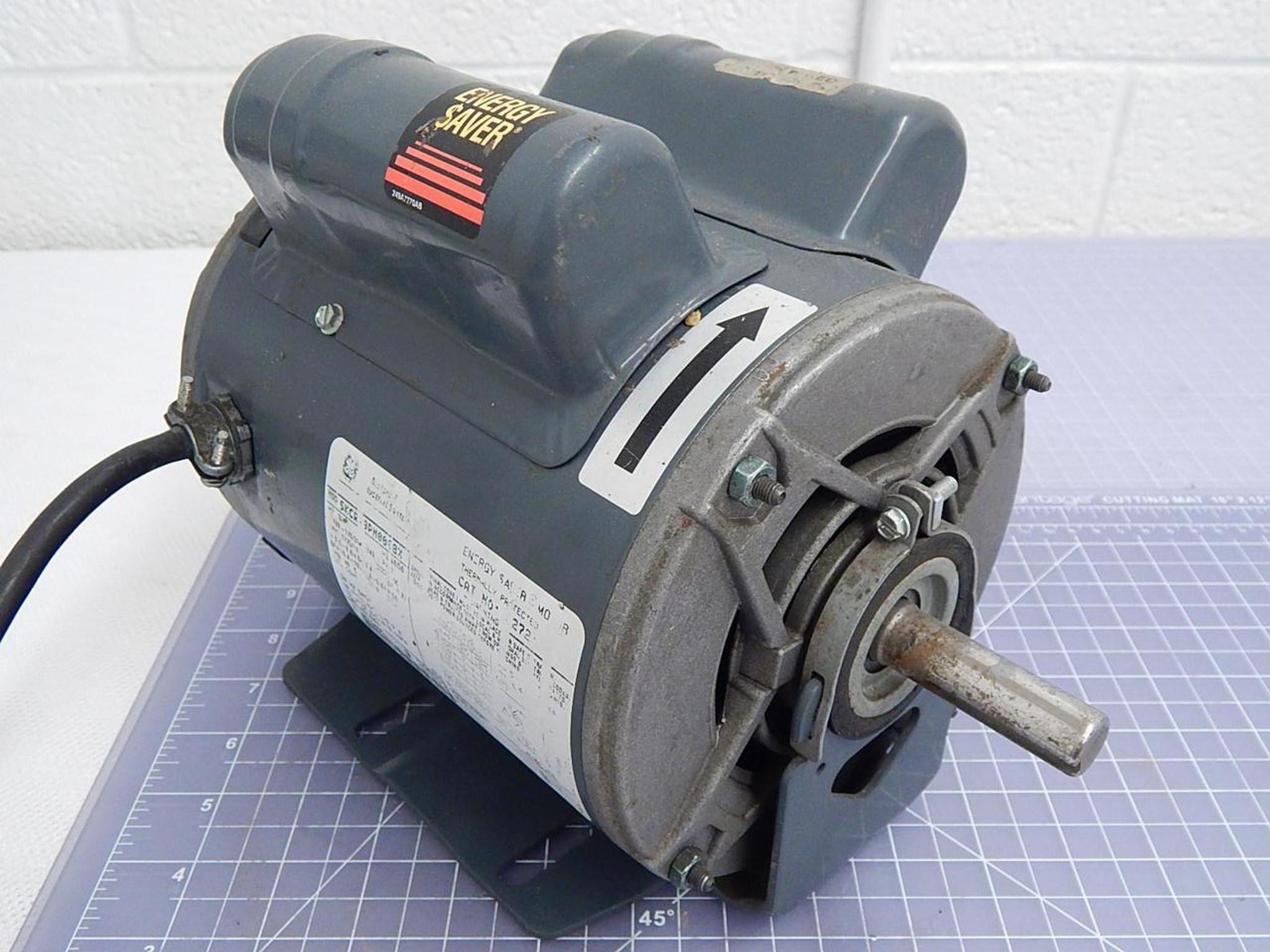 GE, General Electric 5KCR49PN0098X Motor 3/4 HP, 1725/1425, 1 PH T100281