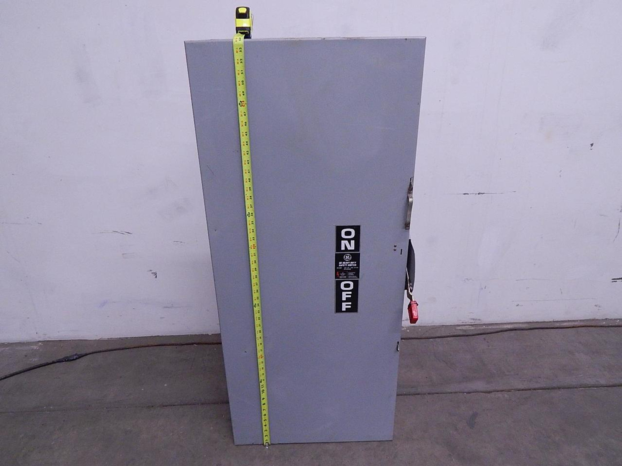 General Electric TH3365 Safety Switch 400 A 600 VAC 3 Ph