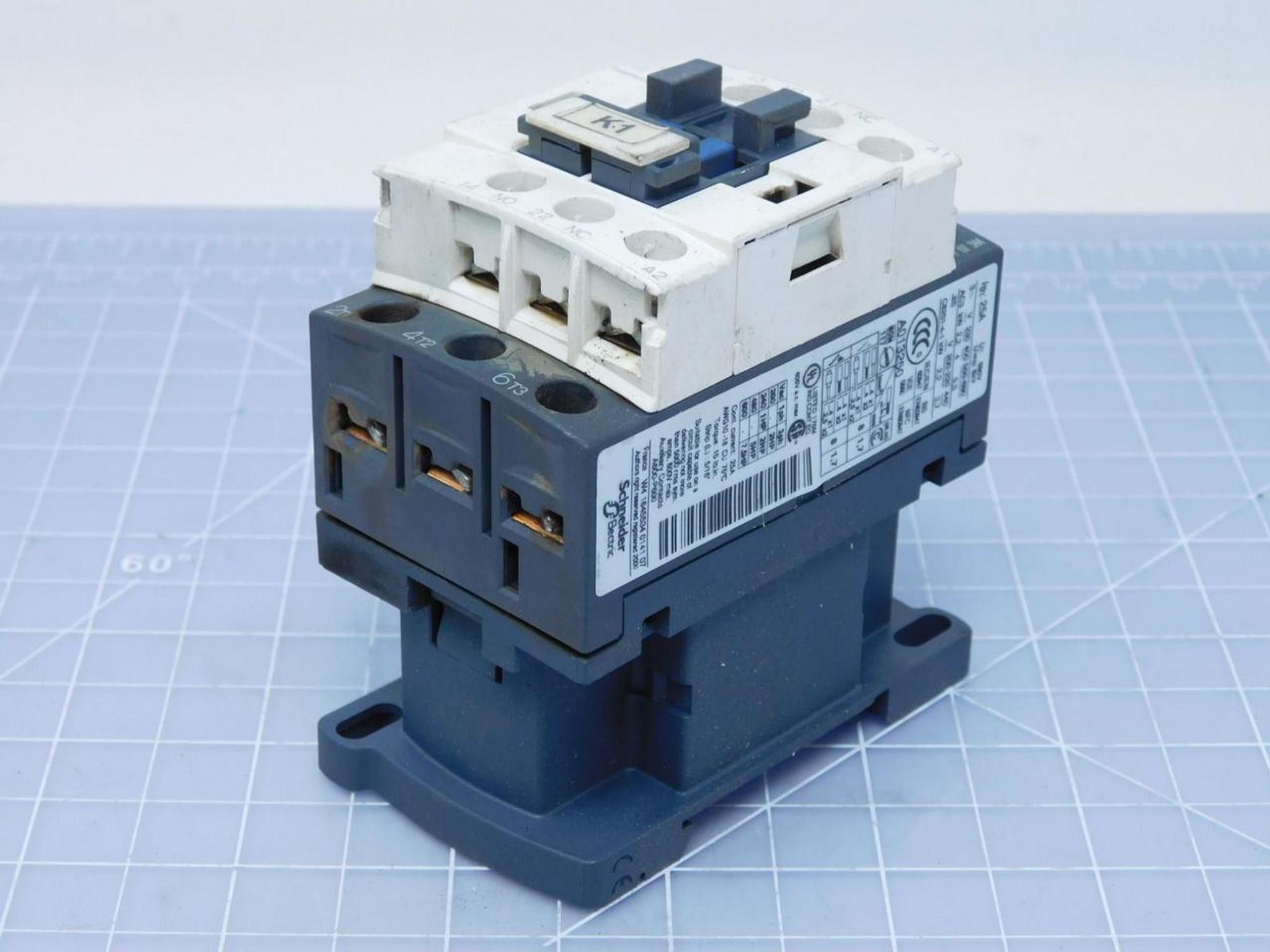 Telemecanique LC1D09 Contactor 600VAC 25A A013250 T118218