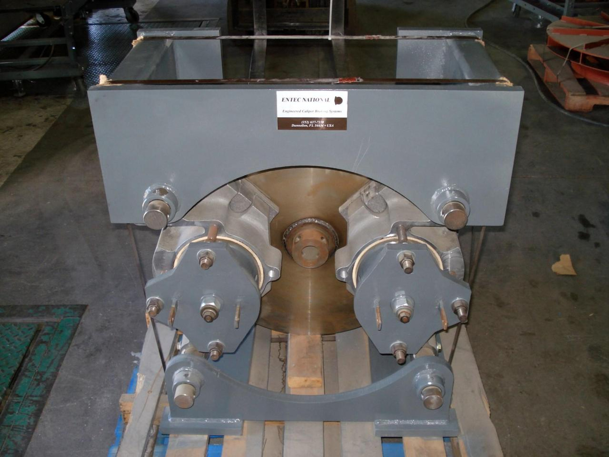 ENTEC NATIONAL ENGINEERED CALIPER BRAKING SYSTEM