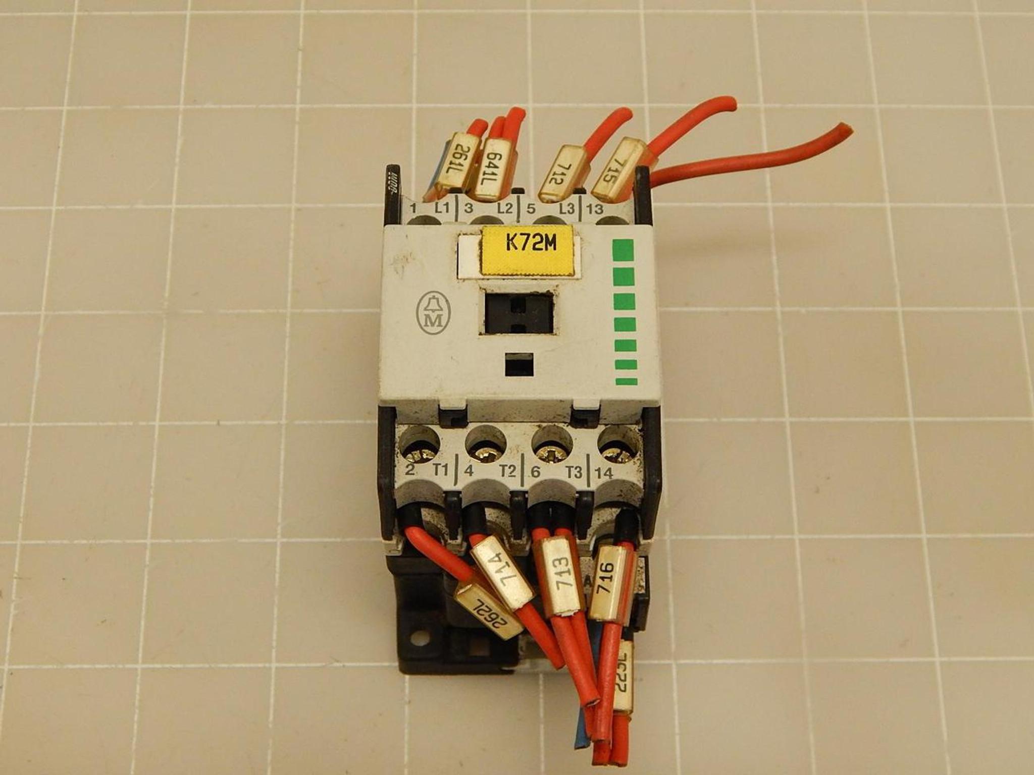 Klockner Moeller DIL00M-10 Contactor T72205