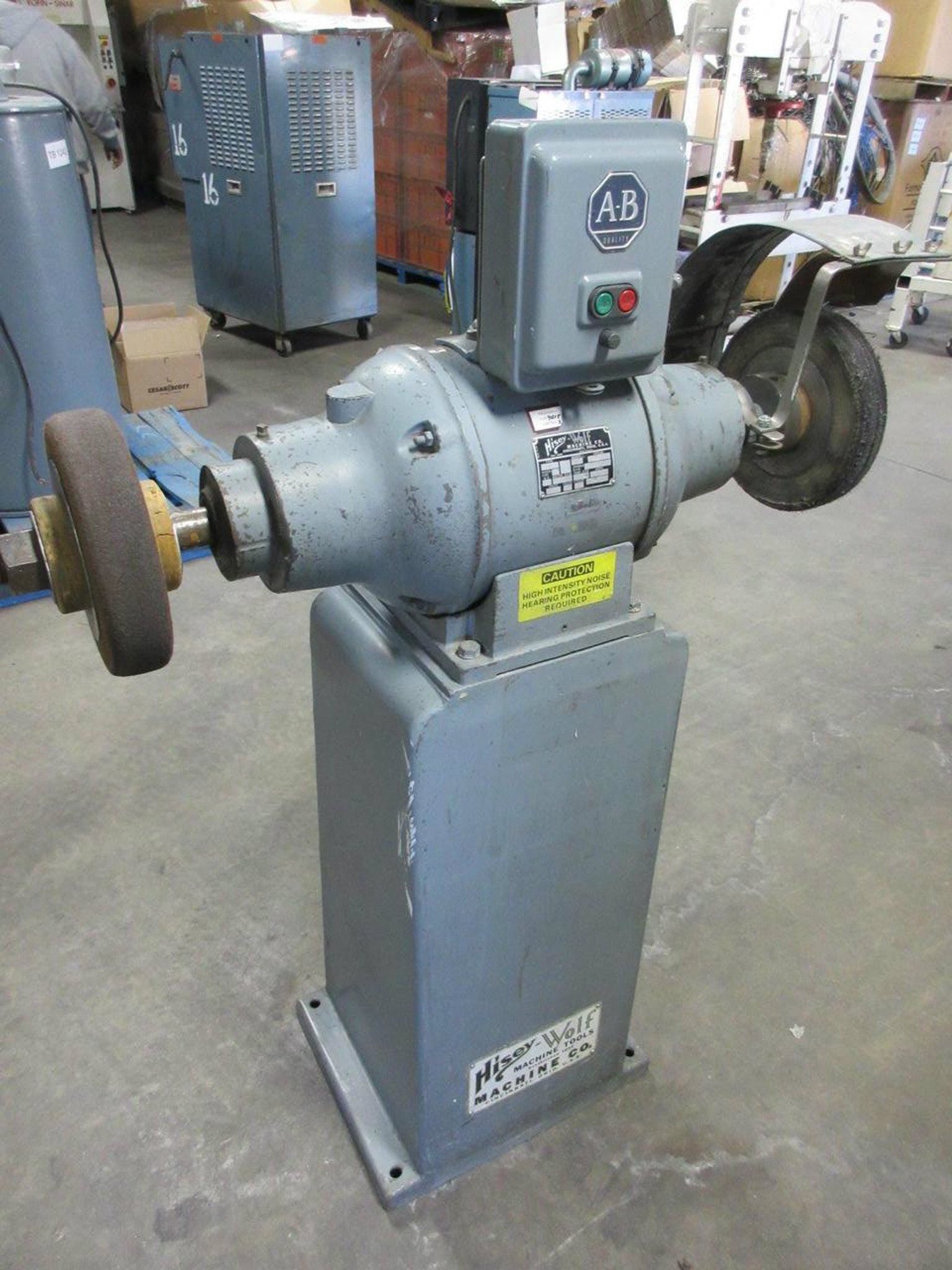 Phenomenal Hisey Wolf 6 4H0A 2 Hp Commercial Bench Grinder Uwap Interior Chair Design Uwaporg