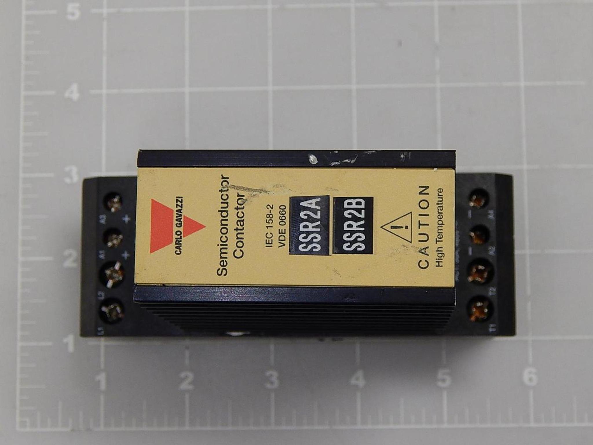 Carlo Gavazzi IEC 158-2, VDE 0660 Semiconductor Contactor T85345