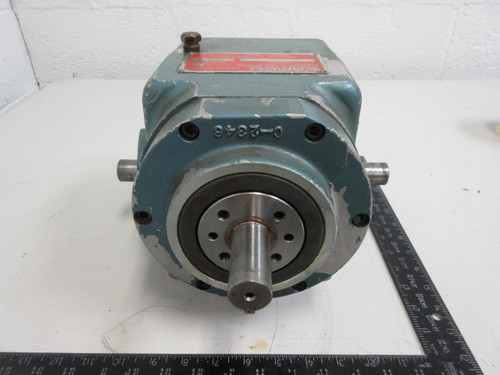 Emerson Camco 401ra4h20 120 4 Position Rotary Index Drive Gear Reducer T96049 Test Equipment And Machinery International Inc