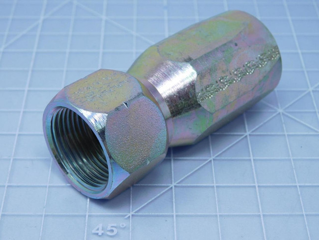 Eaton -12    Female Straight Swivel Hydraulic Hose Fitting 1 In x 1 5/32 In For Sale