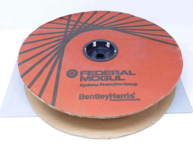 "Lot of 100 Ft  Bently-Harris ZS640B    Expando FR Plus 1/4"" Black For Sale"