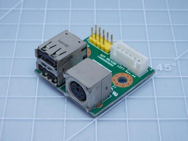 Advantech 19AK000000    ACP KB/USB Left Board For Sale