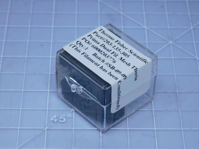 Thermo Fisher Scientific 203-130-305    Prima Dual Fil. Mesh Thoria For Sale