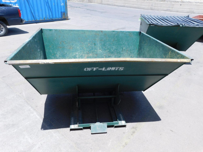 Vestil D-300-HD    Self Dump Hopper 6,000 Lbs Cap 3 Yards For Sale