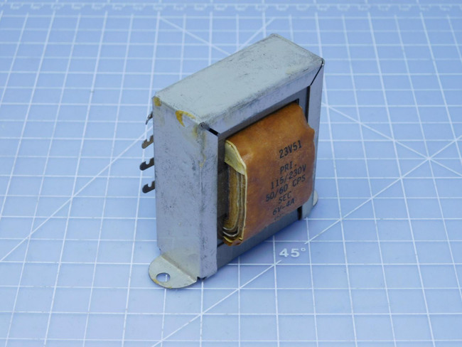 Thordarson Electric Center 23V51    Control Transformer For Sale